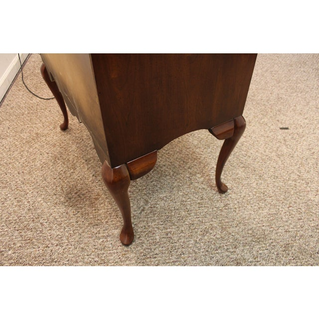 Traditional Queen Anne Cherry Secretary/Desk - Image 11 of 11