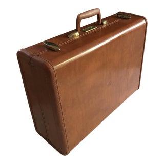 Vintage Leather Samsonite Streamlite Suitcase