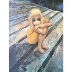 Image of Vintage Framed Art Print by Keane