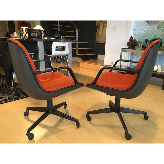 "Steelcase Rolling ""Pollack"" Swivel Office Chairs - Image 4 of 11"