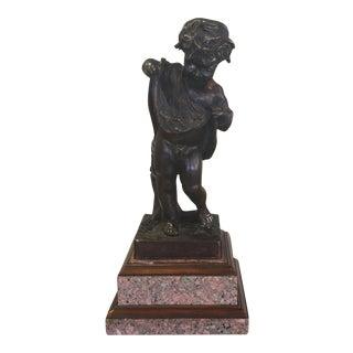 Theodore Alexander Bronze & Granite Sculpture