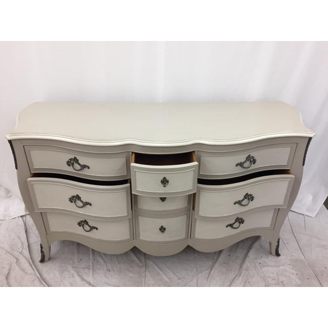 Vintage Hand Painted French Style Dresser - Image 6 of 11