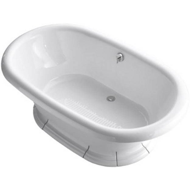 kohler vintage cast iron freestanding bathtub chairish