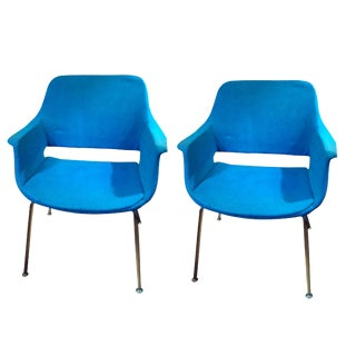 Mid-Century Asko Scandinavian Chairs - a Pair