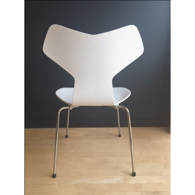 Grand prix chair by arne jacobsen for fritz hansen chairish - Chaise grand prix jacobsen ...