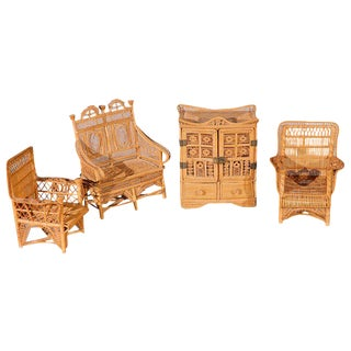 Doll House Furniture - A Set