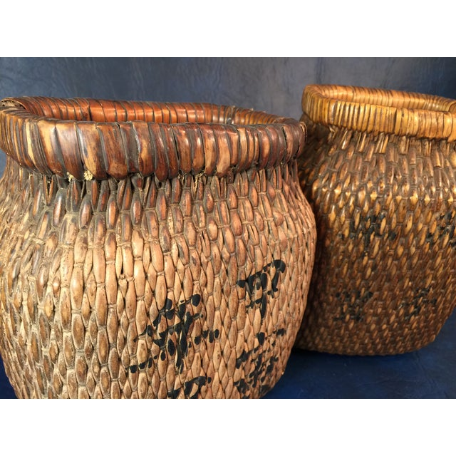 Japanese Covered Baskets - A Pair - Image 8 of 10