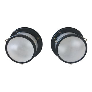 Porthole Ceiling Lights - A Pair