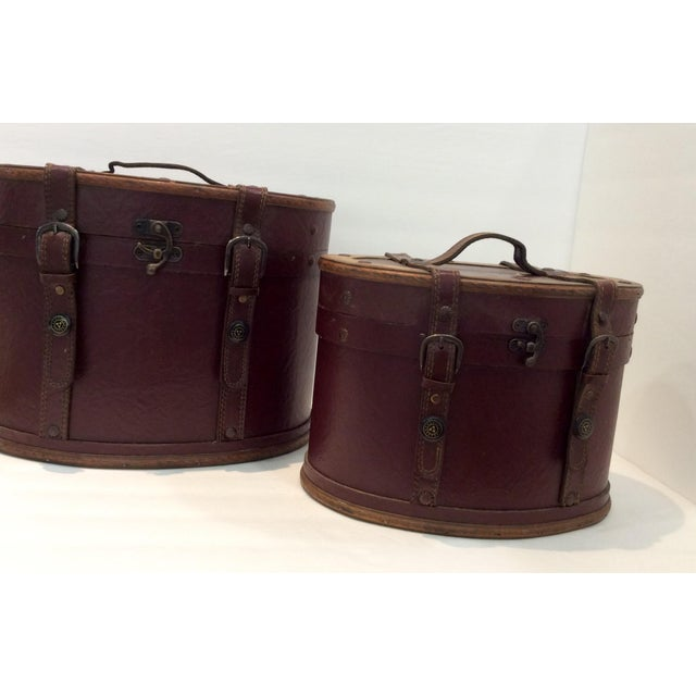Image of Nesting Trunk Style Boxes - A Pair