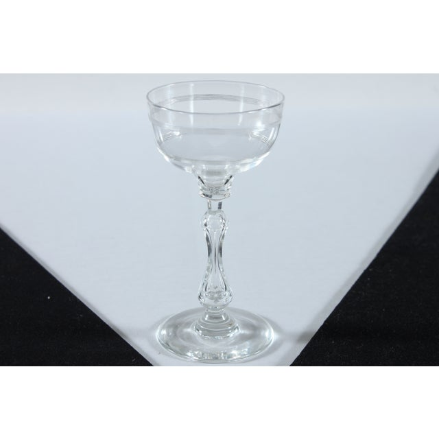 Coupe Champagne Glasses - Set of 4 - Image 3 of 3