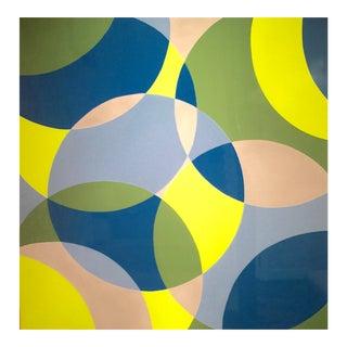 Original Acrylic Painting Abundant Circles by Stephanie Henderson