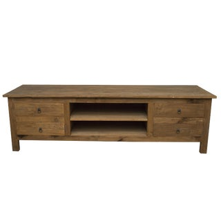 Saunter Low Media Console