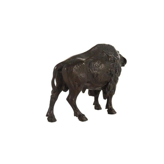 "Austrian Bronze 5"" Buffalo - Image 4 of 9"