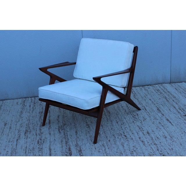 Vintage 1950s poul jensen danish z chair chairish - Poul jensen z chair ...