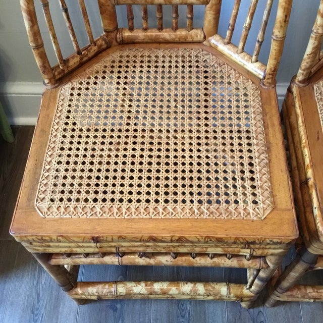 Vintage Brighton Chinese Chippendale Chairs - A Pair - Image 4 of 11