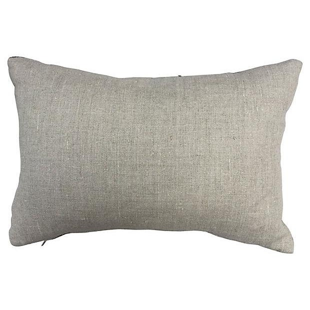 Image of Hand-Woven Tribal Quilt Pillow