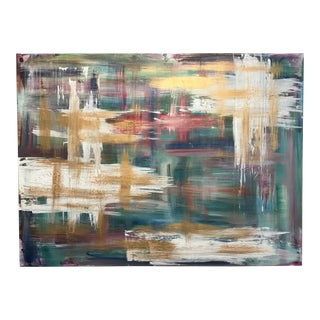 Large Abstract Impressionist Expression Acrylic Painting