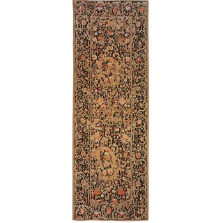 "Antique Karabagh Gallery Carpet - 18'10"" x 6'5"""