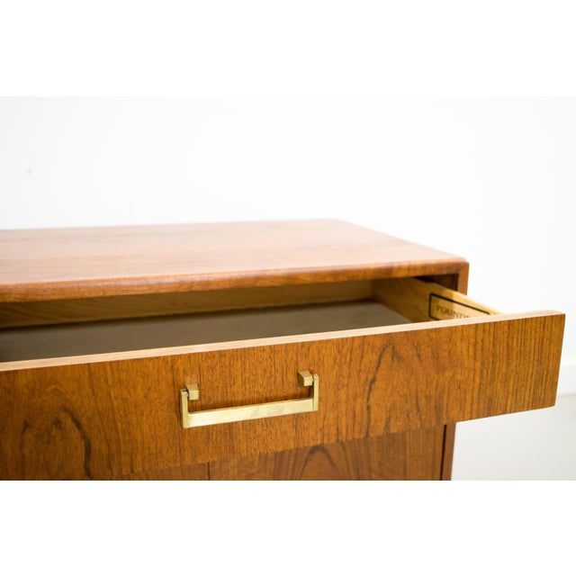 Founders Mid-Century Walnut Chest - Image 6 of 6