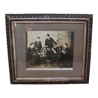 Vintage London Strings Quartet Photograph