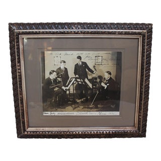Vintage London Strings Quartet Photograph