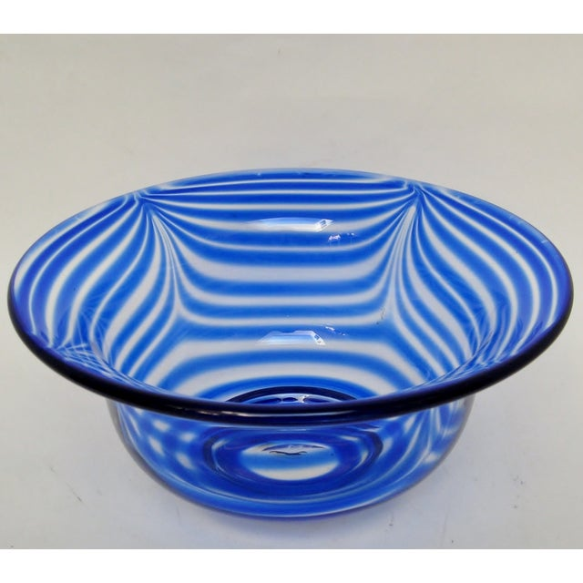 Image of Pulled Feather Glass Console Bowl