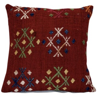 Vintage Handmade Wool Boho Pillow