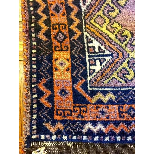 Semi Antique Turkish Anatolian Rug - 1′10″ × 3′4″ - Image 4 of 6