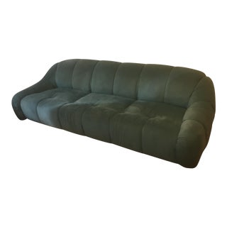 Weiman Large Teal Sofa