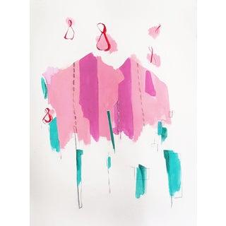 """Dreaming Pink"" Original Acrylic Painting"