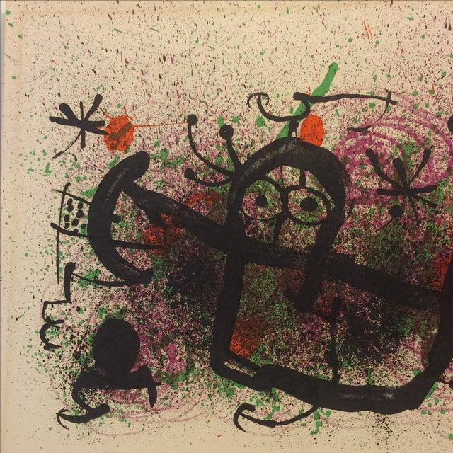 Miro Ma De Proverbis Lithograph - Image 3 of 9