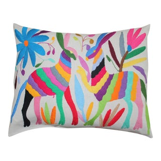Otomi Multicolor Pillow