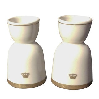 Limoges Egg Cups - A Pair