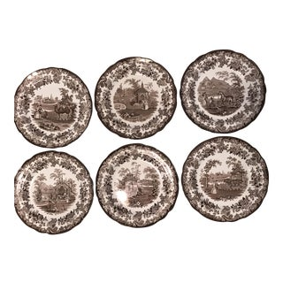 The Spode Archive Collection Plates - Set of 6