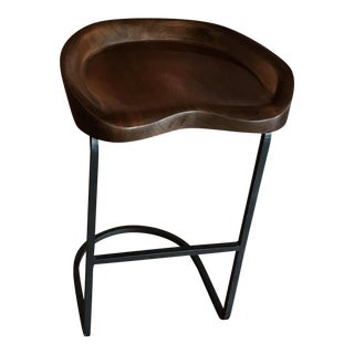 Cisco Home Walnut Tilo Counter Stool