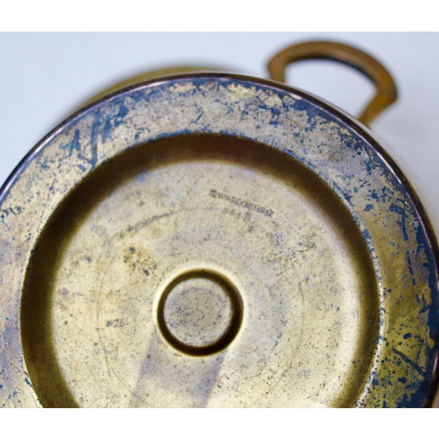 Brass Ice Bucket with Glass Liner - Image 6 of 6