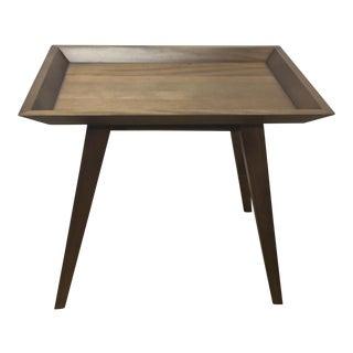 Walnut Wood Side Table