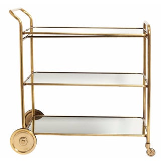 Florin Brass Bar Cart