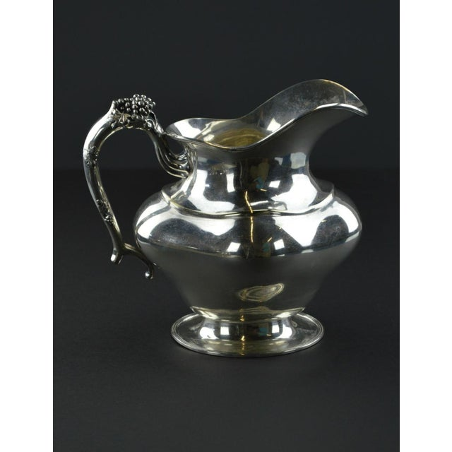Antique Silverplate Pitcher - Image 3 of 10