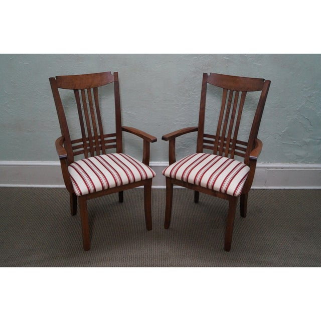 Bermex Traditional Maple Wood Dining Chairs - 6 - Image 5 of 10