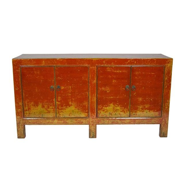 Gansu Painted Sideboard - Image 1 of 3