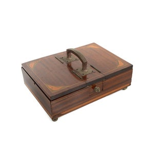 19th Century Unusual English Gentleman Box