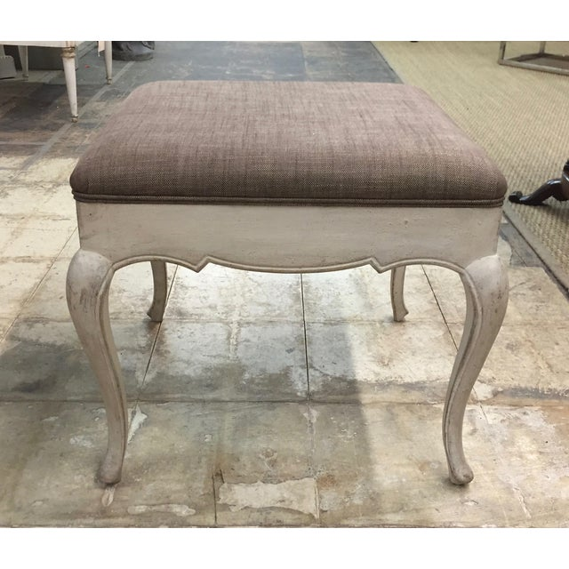 Antique French Provincial Bench - Image 3 of 3