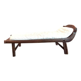 African Wood Day Bed