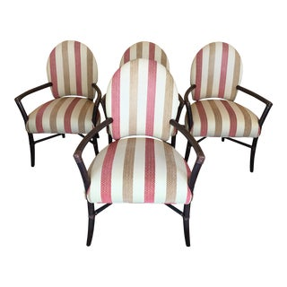 McGuire Rattan Dining Chairs - Set of 4