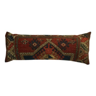 Antique Handwoven Kazak Pillow