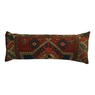 Antique Handwoven Kazak Pillow