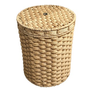 French Woven Storage Basket