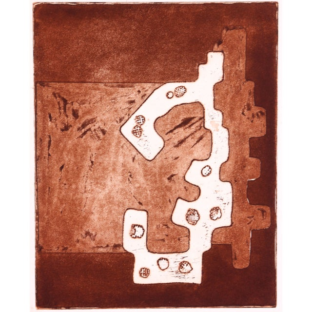 Image of Laurence Kessel Print - Abstract In Brown