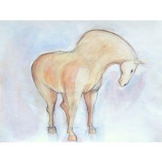 Spring Tang Horse Painting by Heidi Lanino